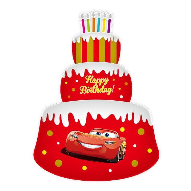disney pixar cars 3 8541 cm gonflable mcqueen mickey minnie souris joyeux anniversaire gteau - Anniversaire Cars
