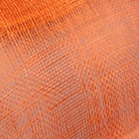Элегантные головные уборы sinamay, Свадебные шляпы для невесты, высококачественные Коктейльные головные уборы, вечерние головные уборы, несколько цветов - Цвет: Оранжевый