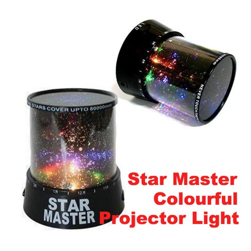 Star Master Colourful Starry Light Lighting Projector DC156