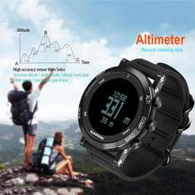 Big discount SUNROAD Outdoor Sport Digital Wrist Watch Waterproof Compass Altimeter Barometer Thermometer Date Alarm Pedometers EL backlight