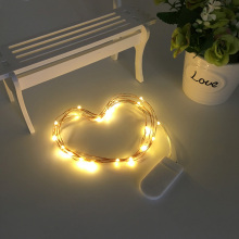 LED Fairy Light 3m 5m LED String Light Waterproof Copper Wire Powered by CR2032 Battery for Garland Christmas Wedding Decoration