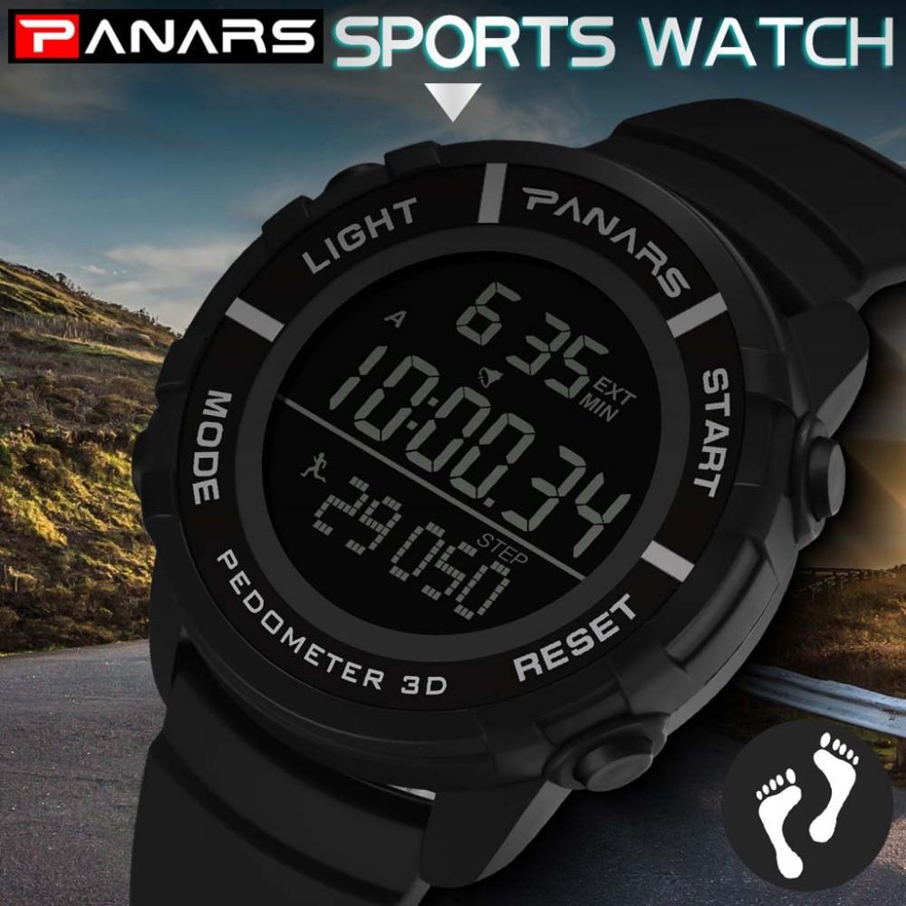 Men Watches Digital 2019 Male Clock 30m Waterproof Led Sport Digital Dual Military Watch Movement Electronics Meski Zegarek Md5 Digital Watches Men's Watches