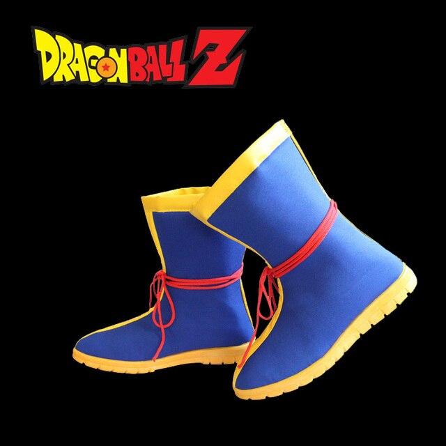 29a99fefcf0 Goku Kakarot  Kuririn  Yamcha suit Dragon Ball cosplay shoes Gohan  halloween costume
