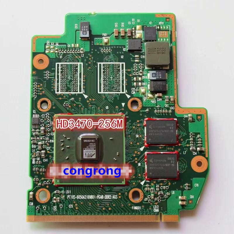 Graphic Card For Toshiba A300 A305 V000121540 PT10S-6050A2169801-VGAB-DDR2-A02 Video Card Display Card