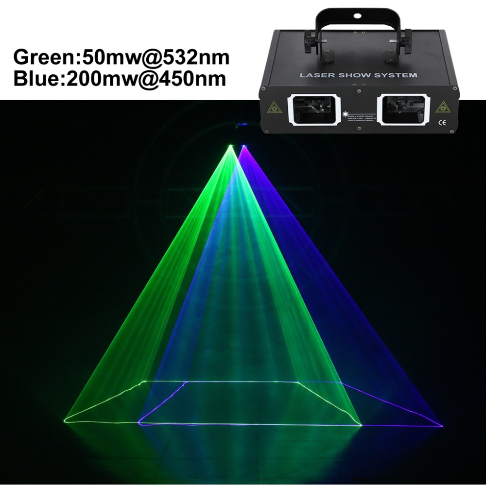 AUCD 2 Lens Green Blue GB Beam Pattern Laser Light DMX 7CH PRO DJ Party Club Bar KTV Holiday Wedding Stage Lighting  DJ-506GB смартфон highscreen fest xl pro blue