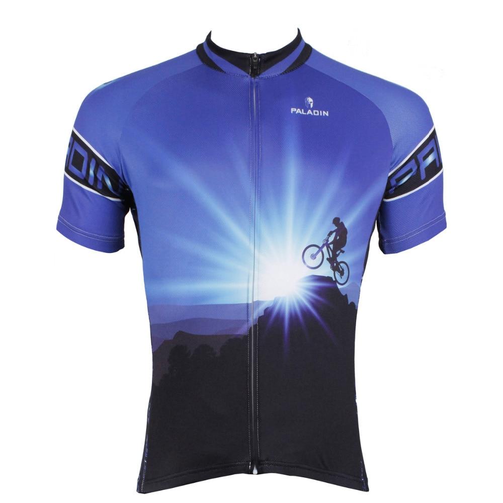 Männer Kurzarm Radtrikot Transcend Limit Radfahren Blau Fahrrad - Radfahren