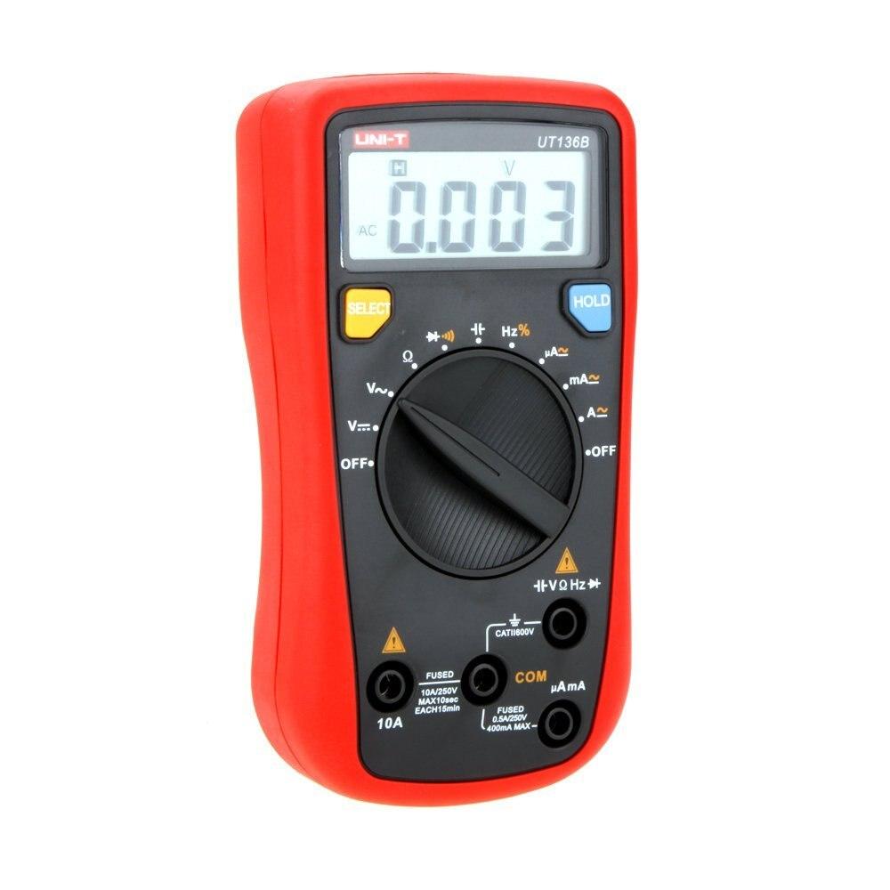 UNI T UT136B digitaalne multimeeter 3999 Count DMM AC DC Voltmeeter - Mõõtevahendid - Foto 4