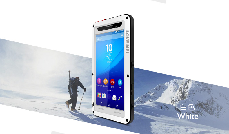 buy online d5896 92c43 US $28.0 20% OFF|Love Mei Waterproof Case For Sony Xperia M5 Shockproof  Aluminum For Xperia M5/E5603/E5606/E5653 Dual SIM Cases Protection Cover-in  ...