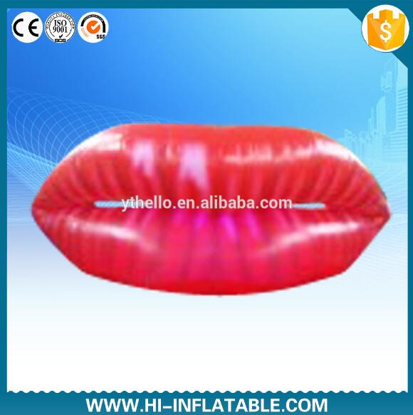 Hot Sexy Girls Kissing Valentine Inflatables Sexy Lips For Party  Decoration(China (Mainland)