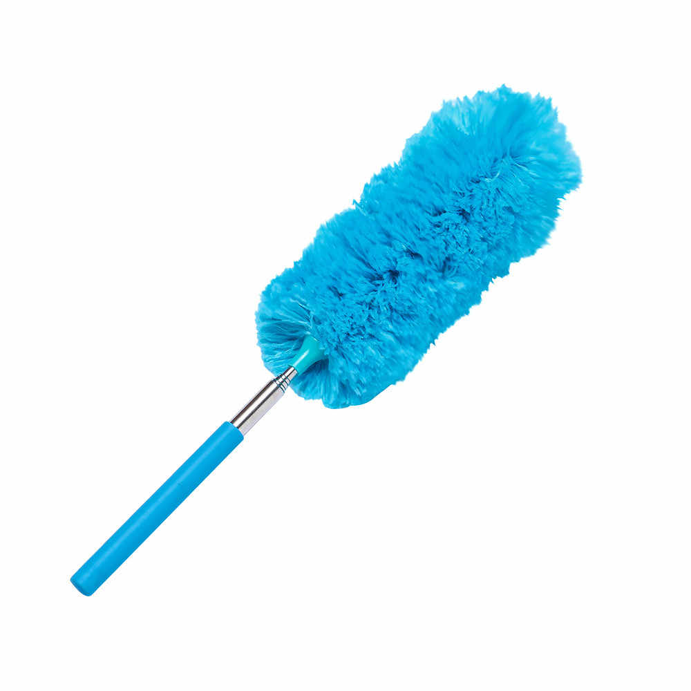 1 Pcs Handle Dust Removal Telescopic Ultra-fine Fiber Duster Anti Dusting Brush Home Air-condition Car Furniture Cleaning