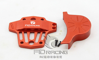 Batmobile Center Differential Gear Cover FOR LOSI 5IVE T (red color)
