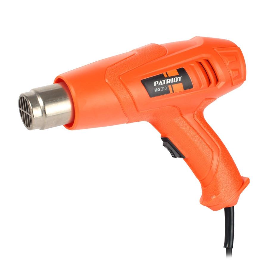 Heat gun PATRIOT HG 210 The One double the heat