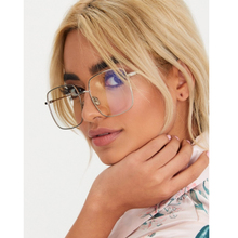 New spectacles Square transparent glasses Women vintage Round computer blueray Fashion Retro Clear Eyeglasses Ladies