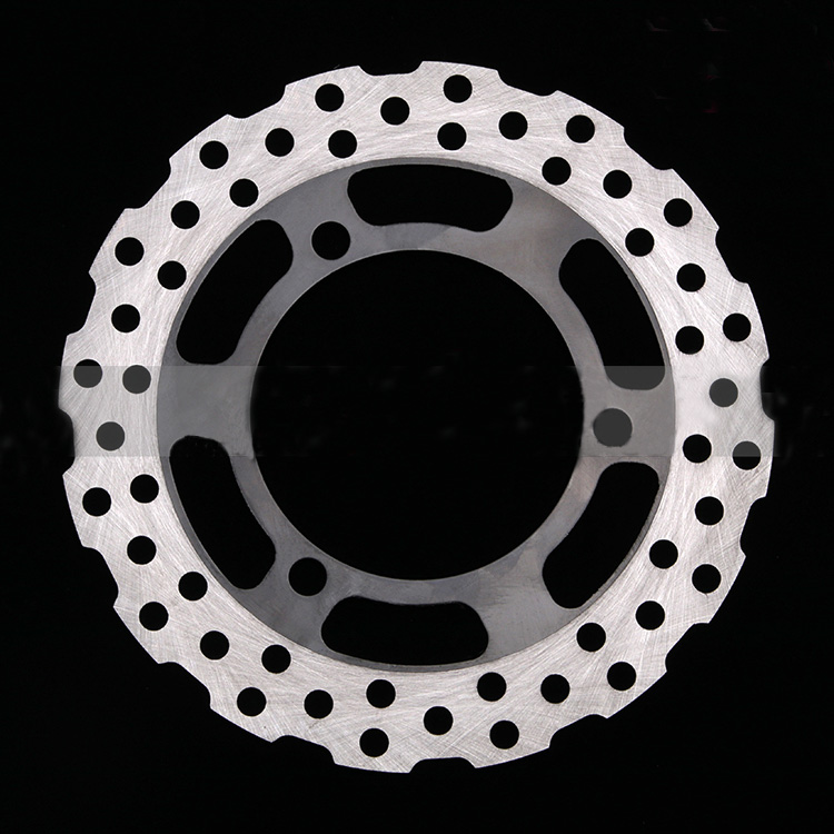 1X Motorcycle Rear Brake Disc Brake Disc Suitable for Kawasaki Little Ninja 250 Ninja250R EX250 2008-2012 new motorcycle front brake disc front brake disc suitable for kawasaki small ninja 250 ninja250r ex250 2008 2012
