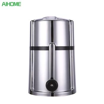 25*15*15cm ABS Stainless Steel Hand-operated Plastic Ice Crusher Freezer Kitchen House Energy Saving Easy Operation Dropshipping