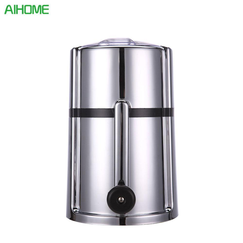 25*15*15cm ABS Stainless Steel Hand operated Plastic Ice Crusher Freezer Kitchen House Energy Saving Easy Operation Dropshipping