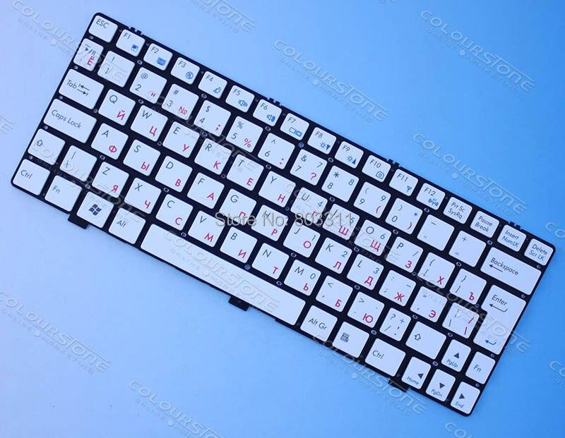 RU белая клавиатура для ноутбука для CLEVO m1110 m1100 m1111 m1115 Клавиатура для ноутбука MP-08J66SU-43013