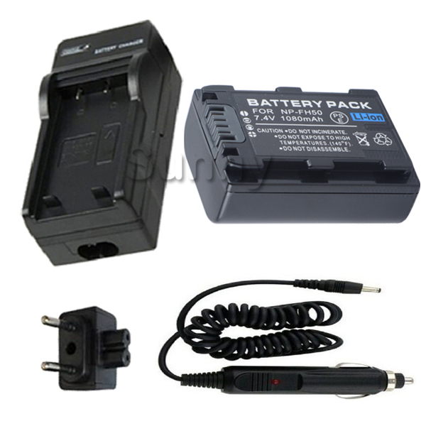 AC Wall Battery Power Charger Adapter Compatible Sony DCR-SR42 Handycam Taelectric