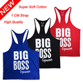 Gold's Tank Top Gymwear Men Summer bodybuilding stringer male clothing Fitness Singlet Sleeveless Undershirt Clothing cotton