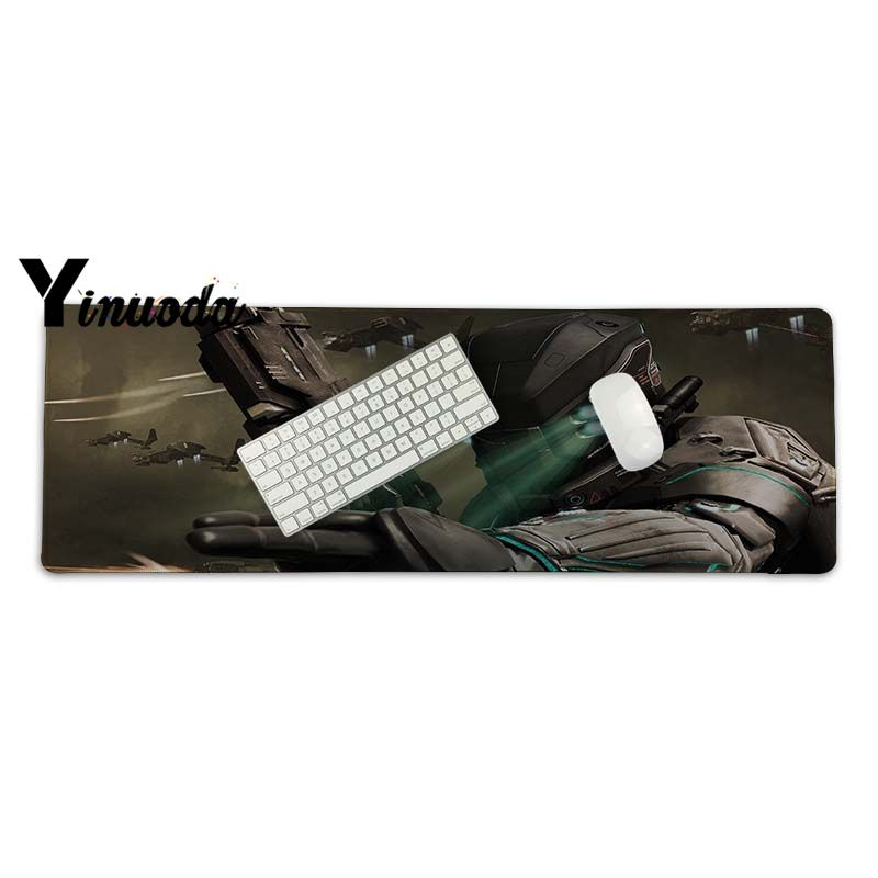 Yinuoda Non Slip PC Command and Conquer mouse pad gamer play mats Size for 30x70cm 30x90cm Rubber Rectangle Mousemats