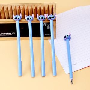 Image 1 - 36 ชิ้น/ล็อต Stitch ปากกาเจล 0.5 มม.หมึกสีดำปากกาสำนักงานโรงเรียนเครื่องเขียนของขวัญ