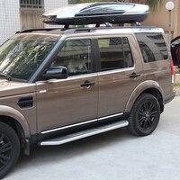 Шт. 4 шт. хромированная Боковая дверь Modling Накладка для Land Rover Discovery 4 2009 2015, автомобильный Стайлинг