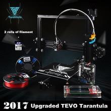 3D Drucker TEVO Tarantula I3 Aluminium Extrusion kit 3d druck 2 Rolls Filament SD card LCD Als Geschenk 3d-drucker kit impresora3D