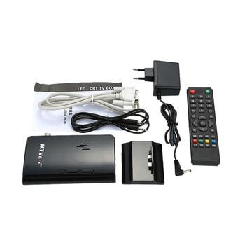 Portable LCD TV BoxAnalog TV Tuner BoxCRT monitor Set Top Box Digital Computer TV Program Receiver wRemote Controller plantronics зарядка