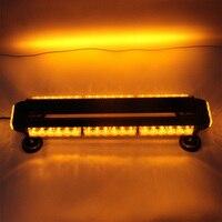 12V amber color car styling Flashlight for ambulance LED Hazard Emergency Lamp 42W Strobe car Vehicle Beacon Strobe Light