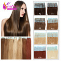 "Tape In Human Hair Extensions 20pieces Human Hair Tape Extensions 16""-24' Skin Weft Tape Hair Extensions PU Hair Tape Adhesive"