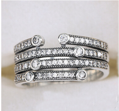 and jewelry crislu products platinum silver ice ring cz grande sterling rings entwined cttw