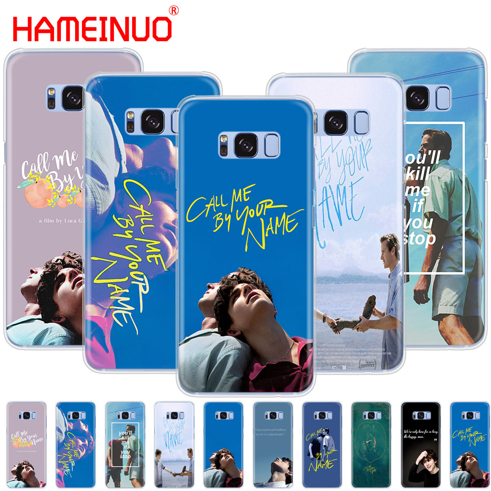 US $1 36 45% OFF HAMEINUO Call Me by Your Name cell phone case cover for  Samsung Galaxy S9 S7 edge PLUS S8 S6 S5 S4 S3 MINI-in Half-wrapped Cases  from