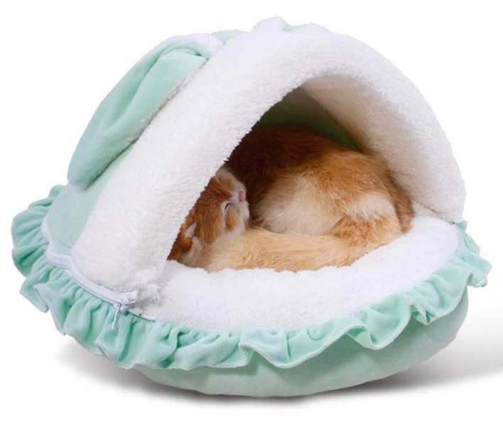 Petminru Cat Rabbit Pet Nest Teddy Dog House Cartoon Bed Sofas Warm Kennel Product In Houses Kennels Pens From Home Garden On