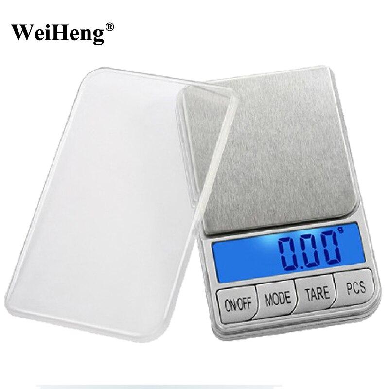 Digital Precision 500g x 0.01g Balance Jewelry Scale Mini Pocket Diamond Portable Weight Gold Libra Coin LCD