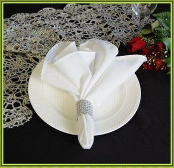 Big discounts&good quality!!FREE SHIPPING 100pcs satin table napkin for wedding banquet napkin 45*45cm Multi-colors cheap price