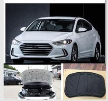 2017  2018 for Hyundai Elantra Eco thermal insulation cotton sound insulation cotton heat insulation pad