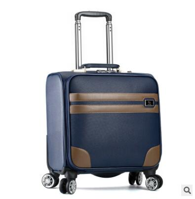 Men Business Travel Luggage Bag PU Spinner suitcase Travel Rolling luggage bags On Wheels Carry on Wheeled Suitcase trolley bag carry on luggage wheels trolley bag rolling travel luggage bag travel boarding bag with wheels travel cabin luggage suitcase