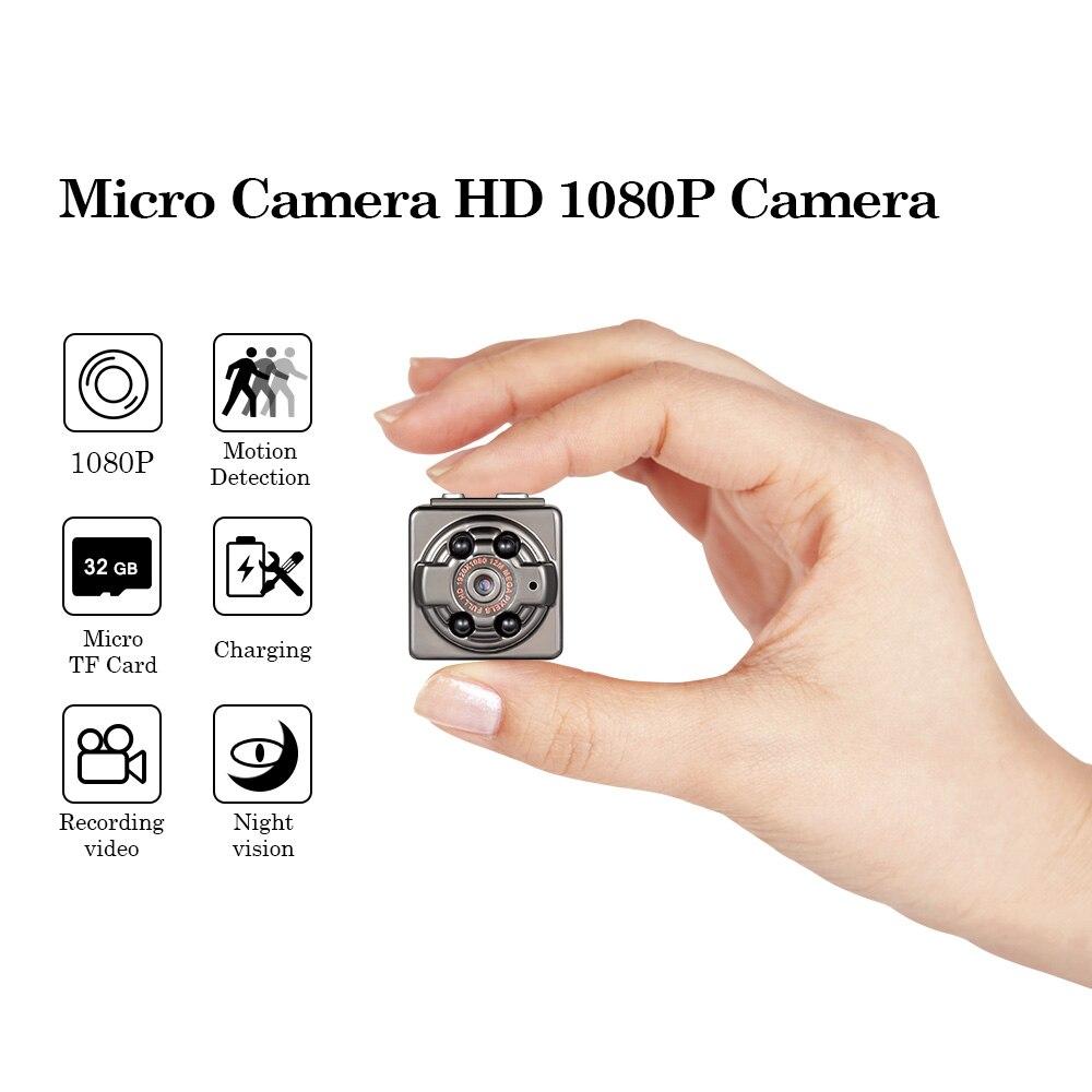 Fuers SQ8 Portable Wireless Mini Caméra Détecteur de Mouvement Caméra De Voiture HD 1080 p Caméra DV 720 p DVR Micro Petit nuit Vision Caméra