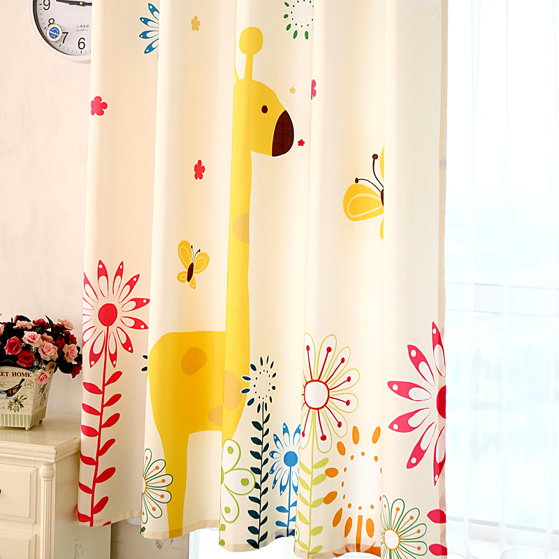 Yellow Baby Curtains Best Home Design 2018