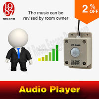 Adventurer Prop Takagism Game Real Llive Room Escape Prop Audio Player When Detect Human Play Audio