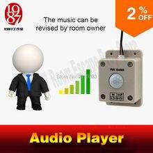 Audio sound player prop gra takagism real llive room escape odtwórz dźwięk, gdy wykryjesz ludzką muzykę audio, aby stworzyć atmosferę