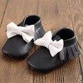 10 Colores Calientes de la Venta zapatos de Bebé Inferiores Suaves Mocasines Niños Bowknot Primeros Caminante Newborn Prewalker Infantil Zapatos de Los Niños