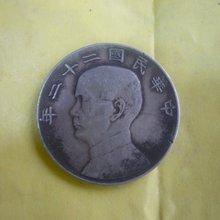 Коллекционный старинный китайский серебряный доллар Монета, 1934