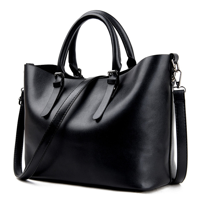 Fashion Hobos Women Bag Ladies Brand Leather Handbags Spring Casual Tote Bag Big Shoulder Bags For Woman 1