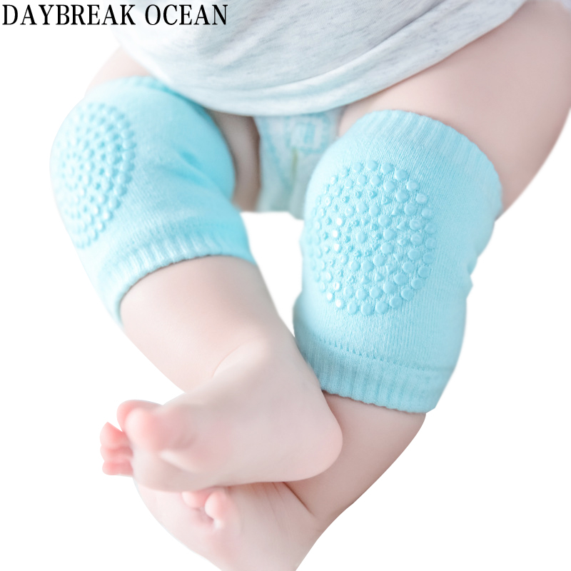 Toddler Kids Kneepad Protector Soft Thicken Terry Non-Slip Dispensing Safety Crawling Ba ...