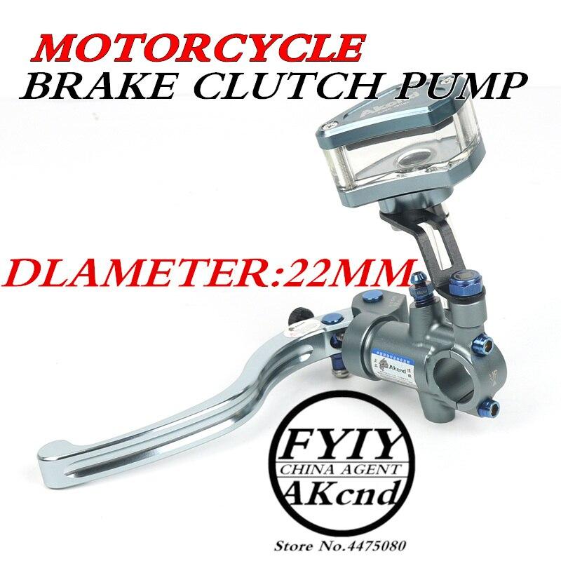 AKCND Universal 22mm7/8  PX1 Motorcycle Brake clutch pump master cylinder lever handle For Yamaha Kawasaki Suzuki yzr-r1/r6