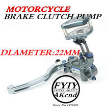 AKCND Universal 22mm7/8  PX1 Motorcycle Brake clutch pump master cylinder lever handle For Yamaha Kawasaki Suzuki yzr-r1/r6