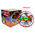 100 level 3D Magic Maze Ball perplexus magical intellect ball educational toys Marble Puzzle Game perplexus balls IQ Balance toy
