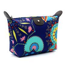 New Arrival Women Cosmetic Bag Neceser Portable Make Up Bag Case Floral Print  Organizer Bolsa feminina Travel Toiletry Bag Jan4