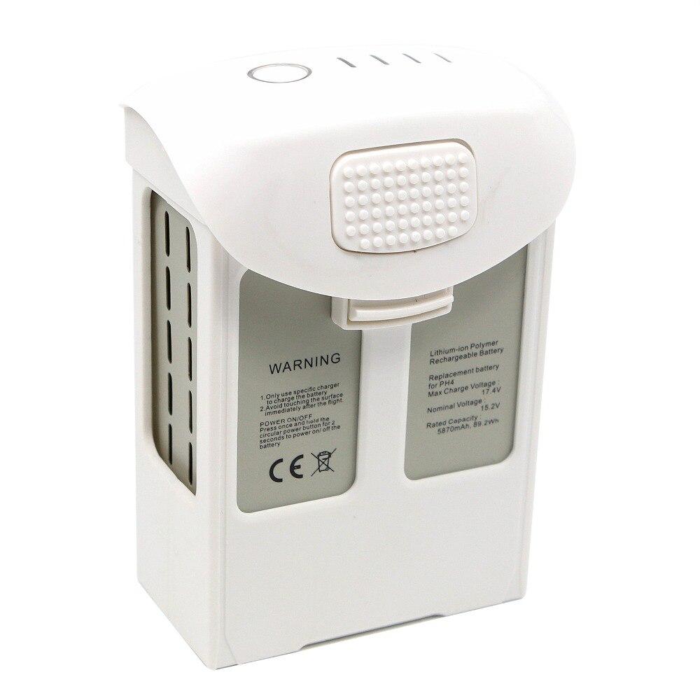 For DJI Phantom 4 Series Intelligent Flight Battery (5870mAh, High Capacity) phantom 4 pro battery Max 30 mins flight time цены